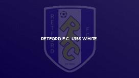 Retford F.C. U15s White