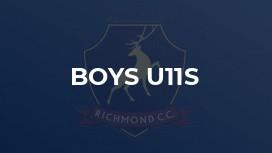 Boys U11s