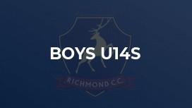 Boys U14s