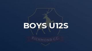 Boys U12s