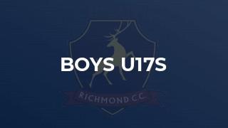 Boys U17s