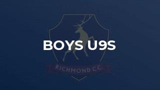 Boys U9s