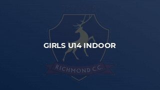 Girls u14 Indoor