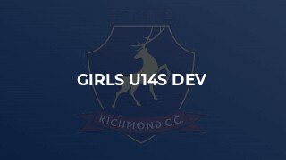 Girls u14s Dev