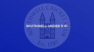 Southwell Under 11 XI