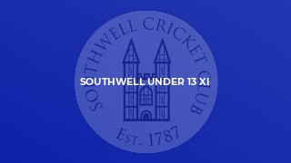 Southwell Under 13 XI