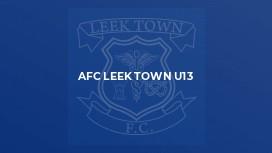 AFC Leek Town U13