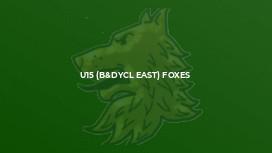 U15 (B&DYCL East) Foxes