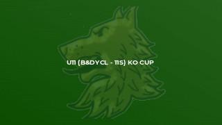 U11 (B&DYCL - 11s) KO Cup
