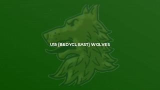 U15 (B&DYCL East) Wolves
