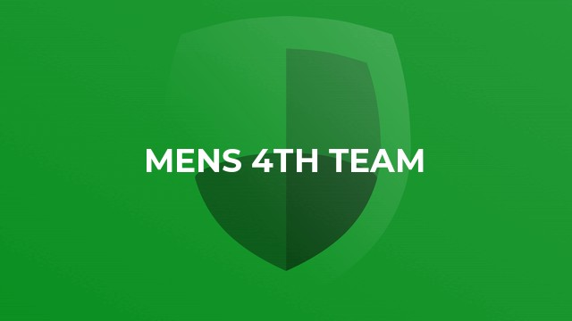 Mens 4th Team