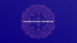 Dulwich Hamlet Under 16s