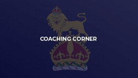 Coaching Corner