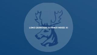 Lone Grangers Summer Mixed XI