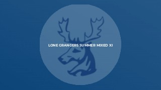 Lone Grangers Summer Mixed XI