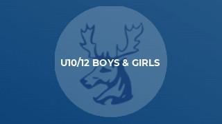 U10/12 Boys & Girls