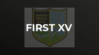 First XV