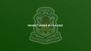 Cricket Under 9s 10-a-side