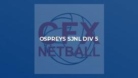 Ospreys SJNL Div 5