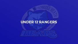 Under 12 Rangers