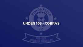 Under 10s - Cobras