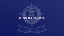 Under 10s - Mambas