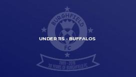 Under 11s - Buffalos