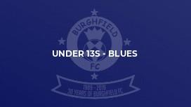 Under 13s - Blues