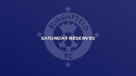 Saturday Reserves