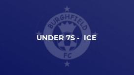 Under 7s -  Ice