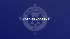 Under 8s - Greens