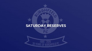 Saturday Reserves