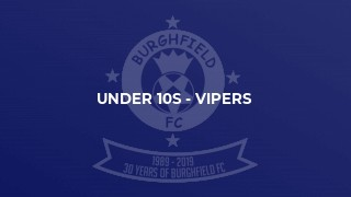 Under 10s - Vipers