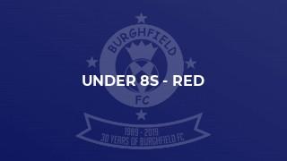 Under 8s - Red