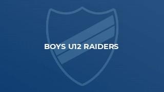 Boys U12 Raiders