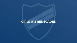 Girls U12 Renegades