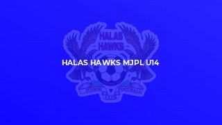 Halas Hawks MJPL u13 v Nunnery Wood Colts
