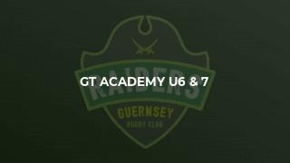 GT Academy U6 & 7