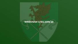 Wrexham u15s 2019/20