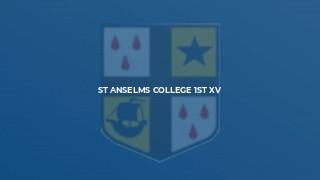 St Anselms College 1st XV