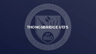 Thongsbridge U13's