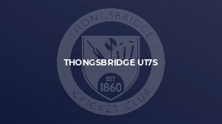 Thongsbridge U17s