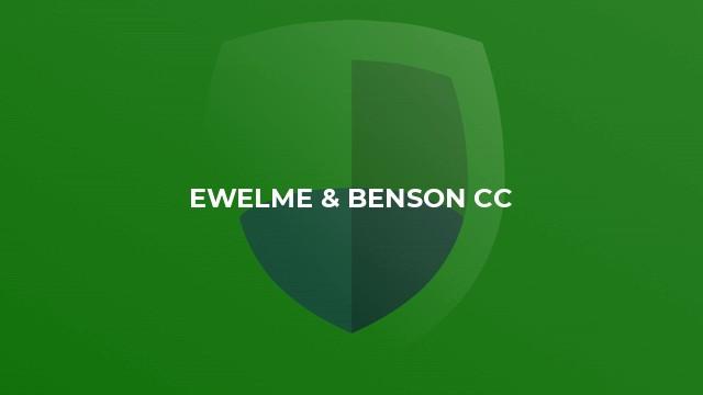 Ewelme & Benson CC
