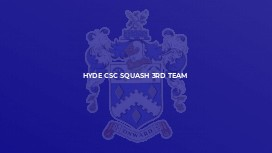 Hyde CSC Squash 3rd Team
