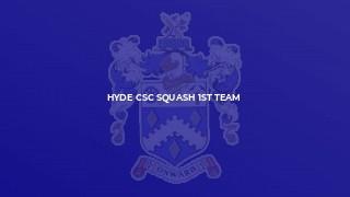 Hyde CSC Squash 1st Team