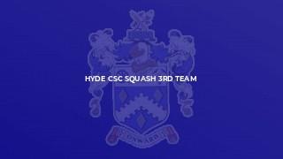 Hyde CSC Squash 3rd Team