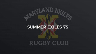 Summer Exiles 7s