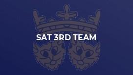 Sat 3rd Team