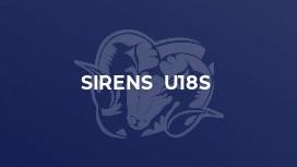 Sirens  U18s