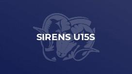 Sirens U15s